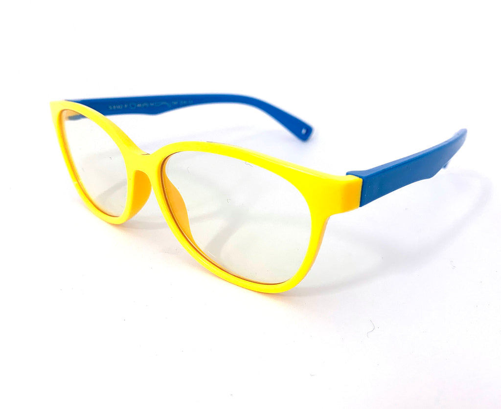 Little Bambino Blue Shield Kids Glasses