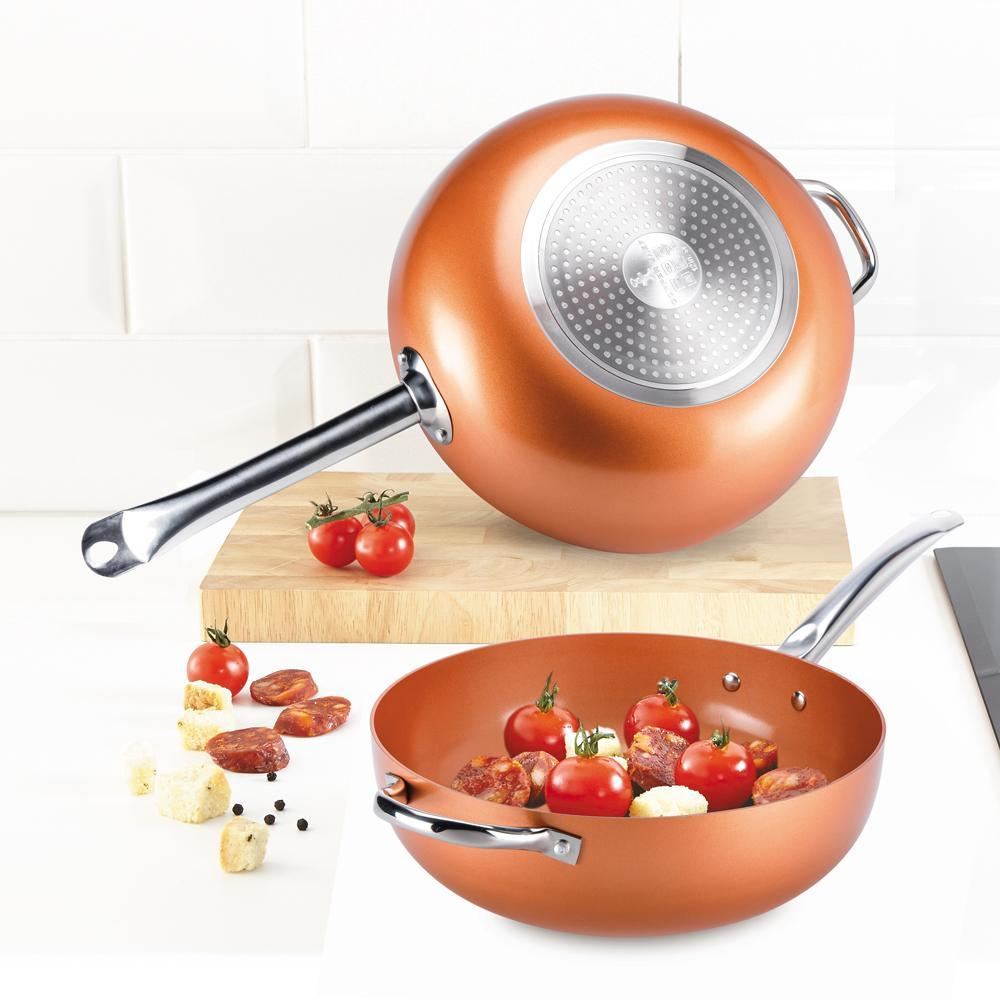 Copper Chef - Wok Pan - Non Stick Coating