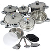 Chuk Bok - 19pc Cookware set
