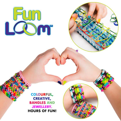 FUNLOOM ARTS AND CRAFTS JEWELLRY WEAVING LOOM KIT