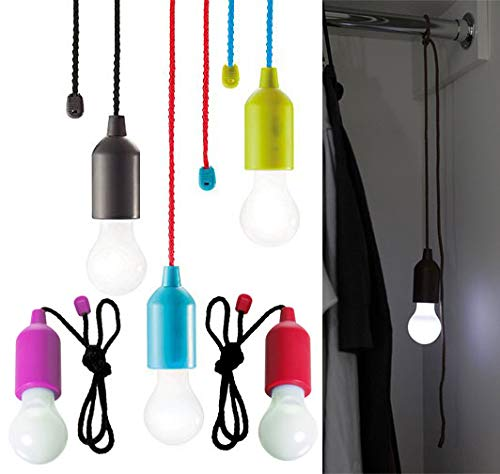 EcoBright Colour Changing Hanging Bulbs (Set of 4)