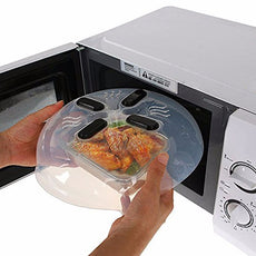 Hover Cover - Magnetic Microwave Spatter Cover