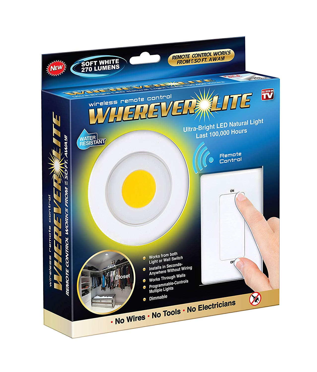 Ultra Bright Remote Controlled LED Light
