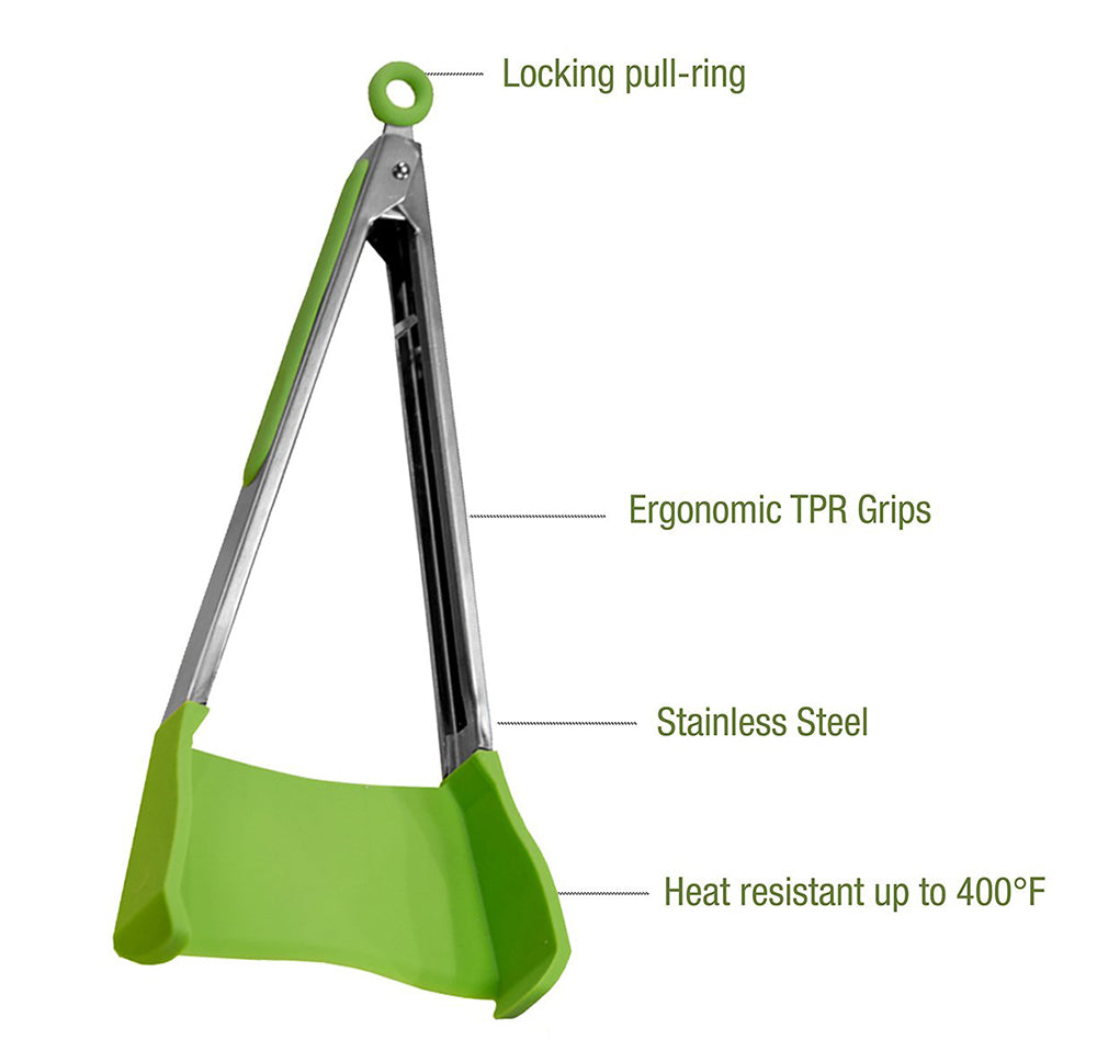 HomeMax Handy Tongs 2 Piece Set