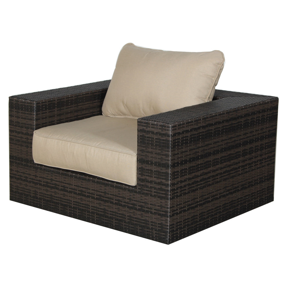 Havana 4 Piece Woven Wicker Patio Set