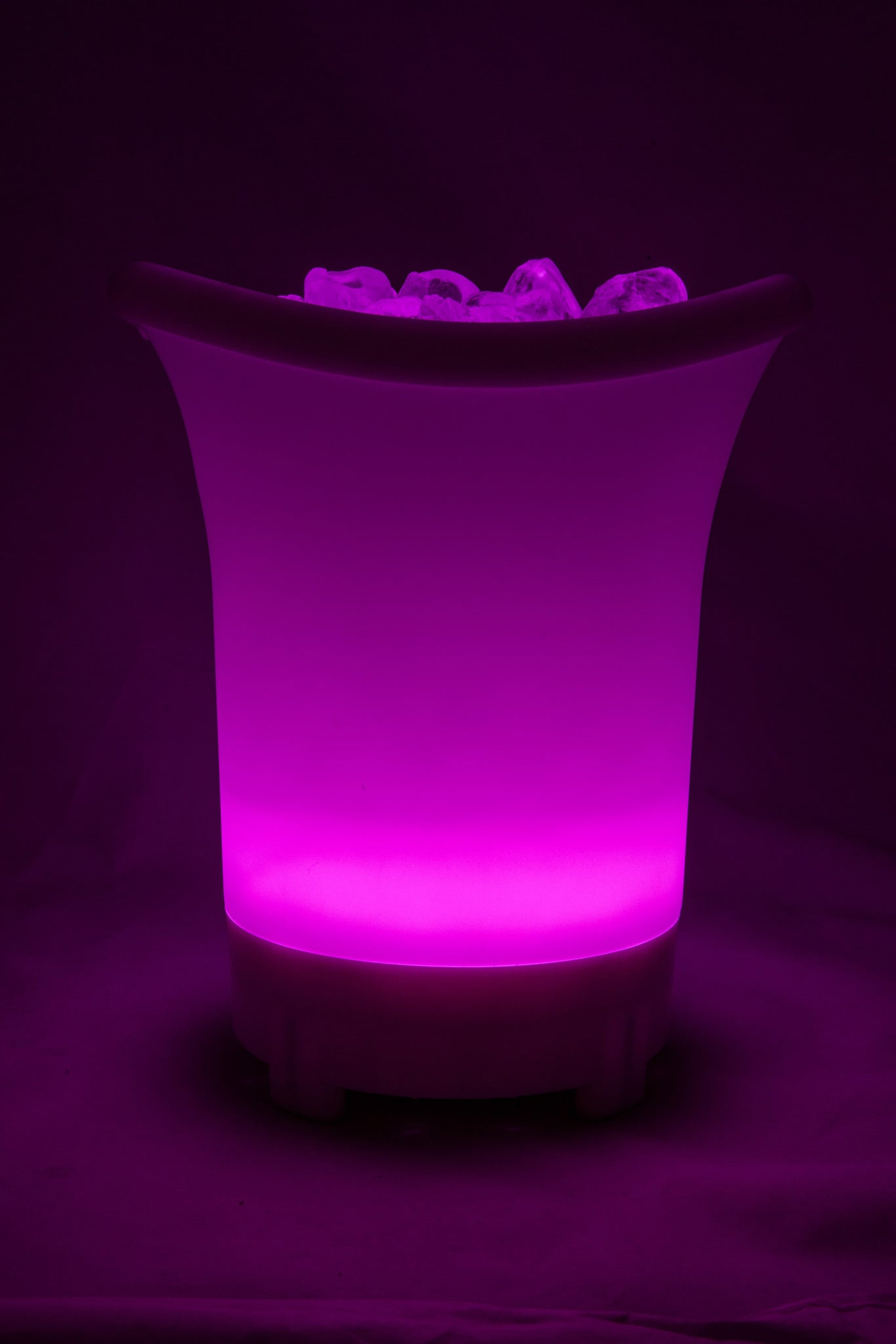 Colour Changing LED Ice Bucket with Built in Bluetooth Speaker- Small