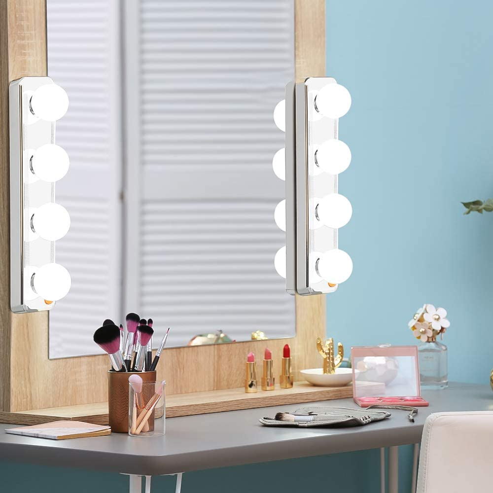IGIA Vanity Mirror Lights with Suction Cups