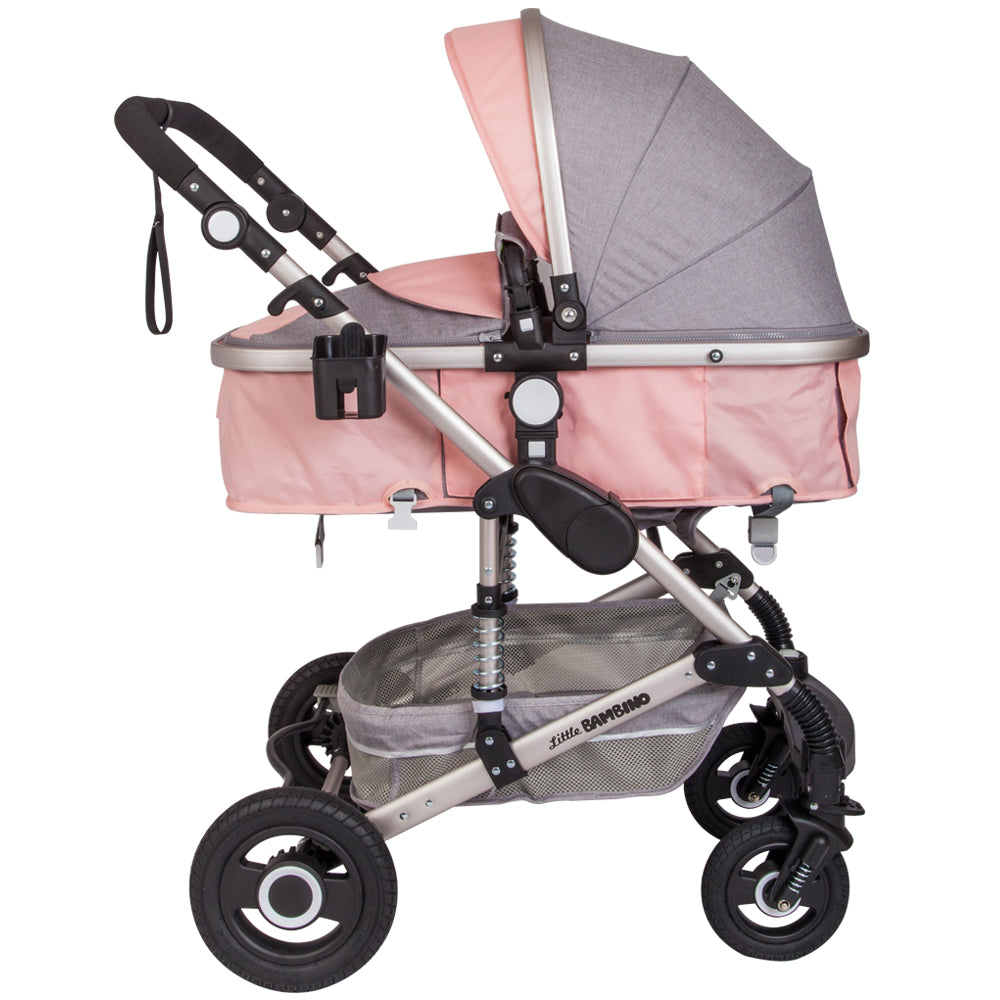 Little Bambino Socialite - Grey and Pink