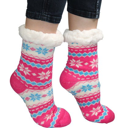 Comfort Pedic Comfy Ladies Flower Socks