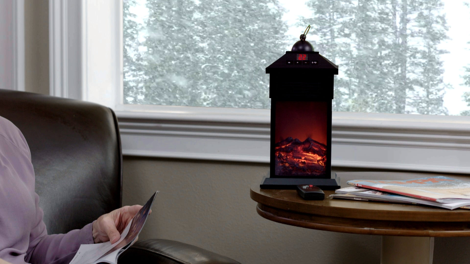 Fireplace Ambience Mini Heater