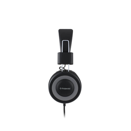 Polaroid Foldable Headphones -  with inline Microphone