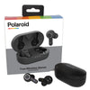 Polaroid Bluetooth True Wireless Series Stereo Earbuds with Charging Dock - Black