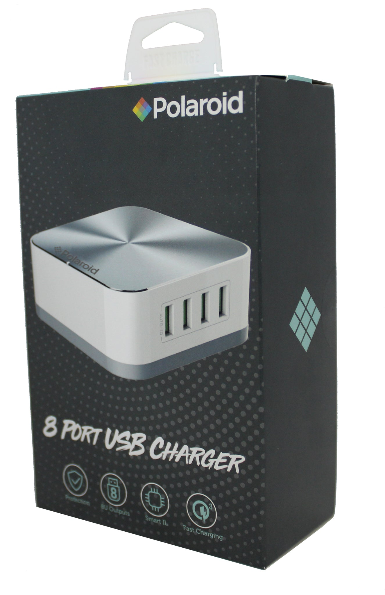 Polaroid 8 Port Universal USB Charger