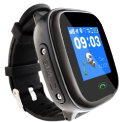 Polaroid Active Kids GPS Tracking Waterproof Watch - with Touchscreen