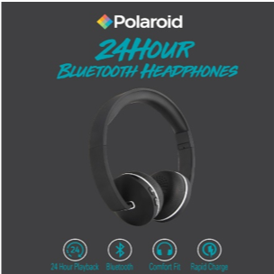 Polaroid Bluetooth 24 hour Playtime Headphone