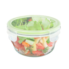 Homemax Round Glass Food Container