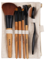 Bamboo Make Up Brush set of 6