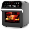 Milex - Digital Hurricane Power AirFryer Oven with Rotisserie 12L