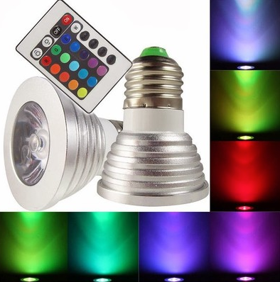 EcoBright Funky Colour Changing LED Bulb
