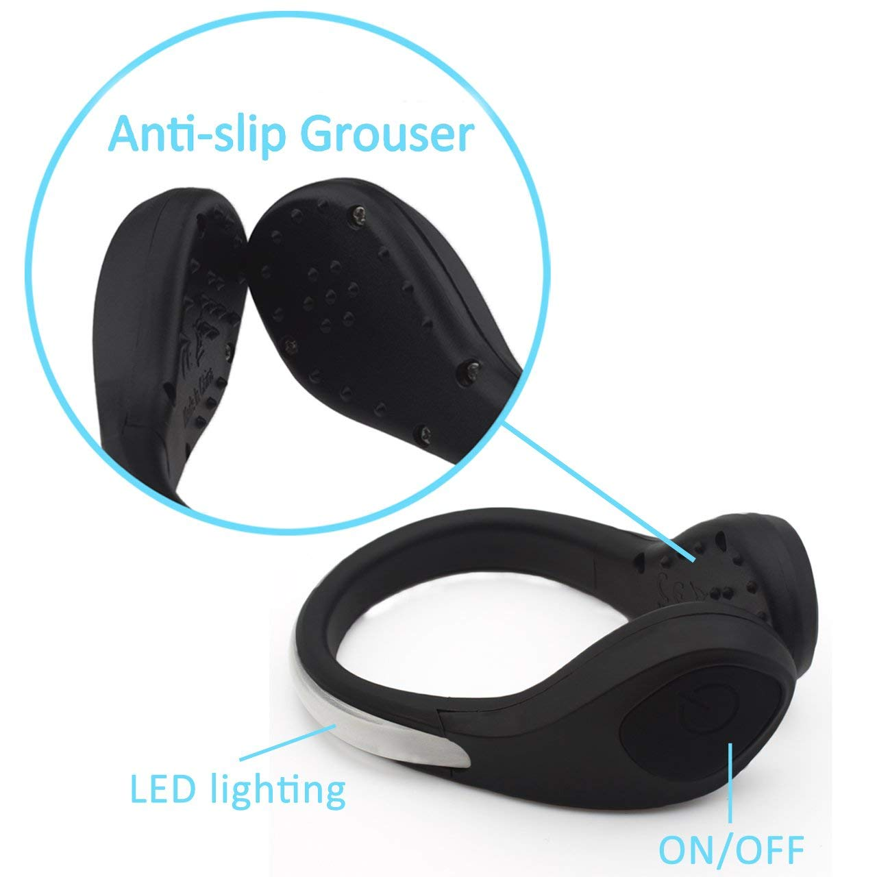 EcoBright Running Shoe LED Light