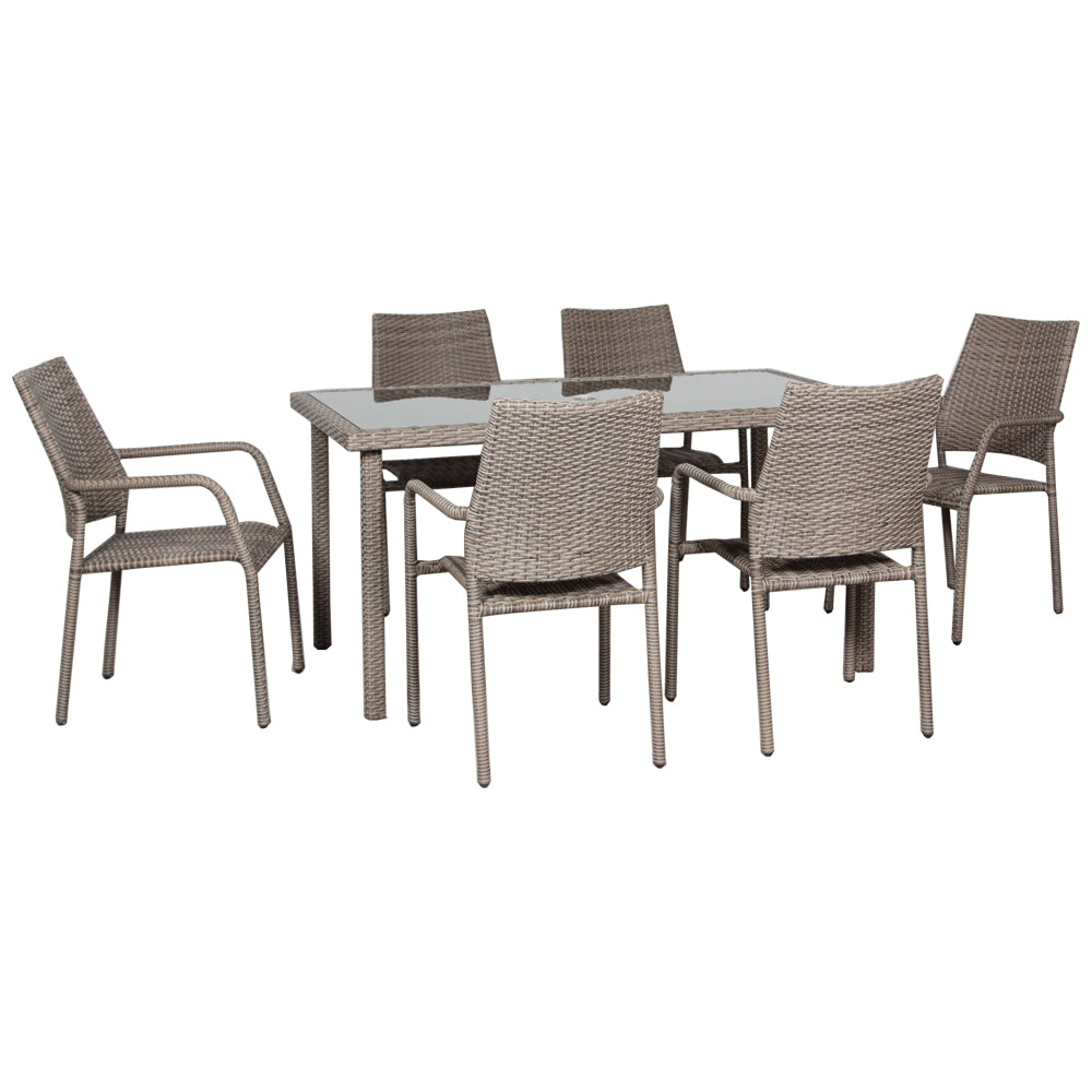 St Thomas 7 Piece Patio Furniture