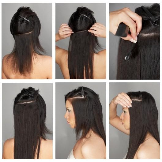 Hollywood Hair - Secret Clip-In Hair Extensions Promotion