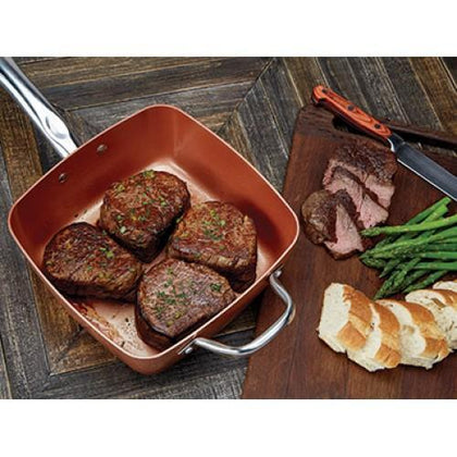 Copper Chef - 5 Piece Square Pan Set