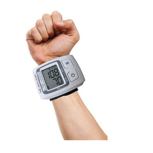 Homemark Healthy Heart - Blood Pressure and Heart Rate Monitor Wrist Band