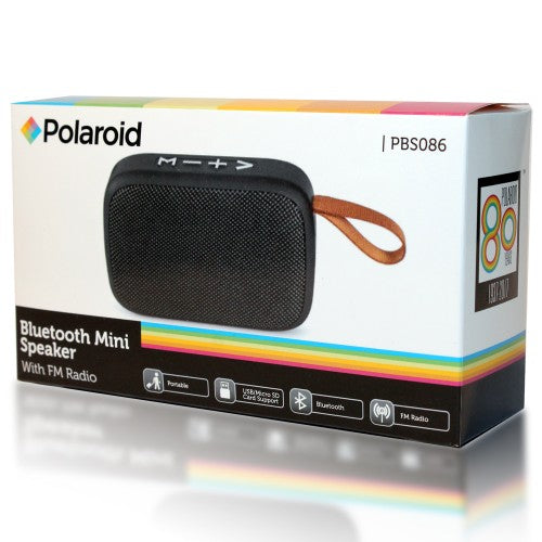 Polaroid Mini Bluetooth Speaker