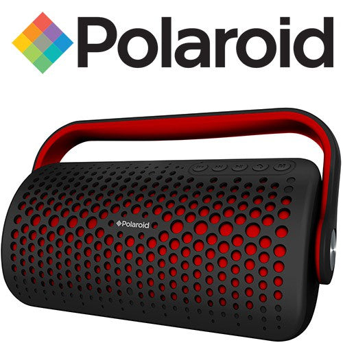 Polaroid Bluetooth Speaker Red