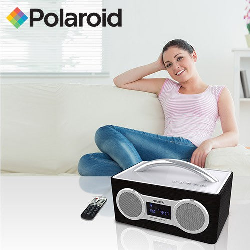 Polaroid FM/Bluetooth Boom Box