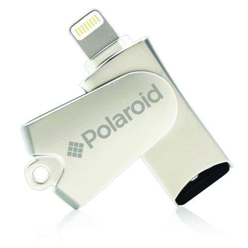 Polaroid USB Micro SD Card Reader for iPhone/ iPad / iPod