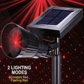 Homemax Solar Galaxy Star Laser: Red Lights