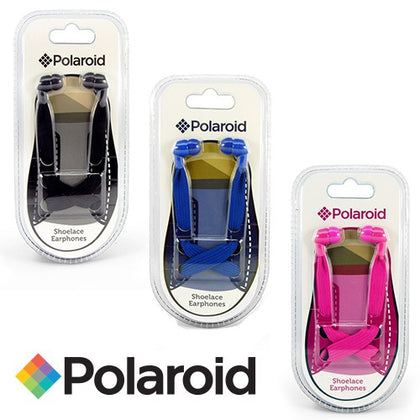Polaroid Shoelace Earbuds