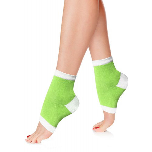 Silky Sox - Green & White