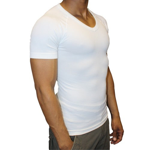 Tone Wear Men's Slimming Undershirts - Vests and T-Shirts