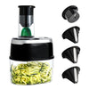 Homemax 4 in 1 Electric Vegetable Spiralizer
