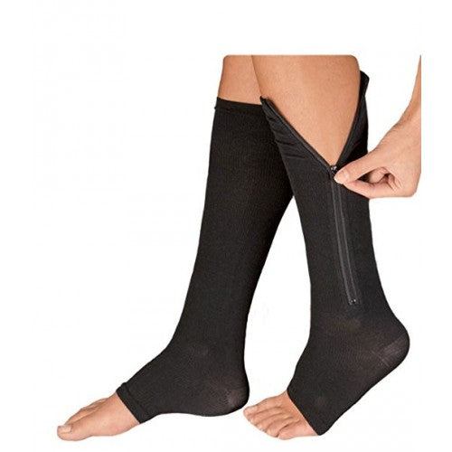 Zip-up Compression Socks