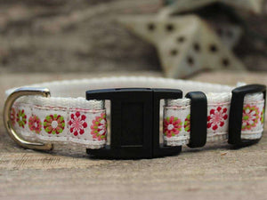 Winter Garden Cat Collar by Surf Cat PetDesignz