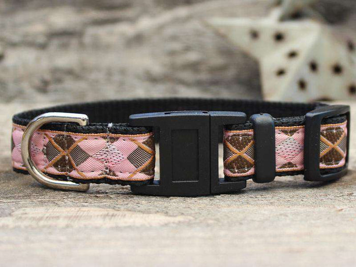 Argyle Cat Collar by Surf Cat