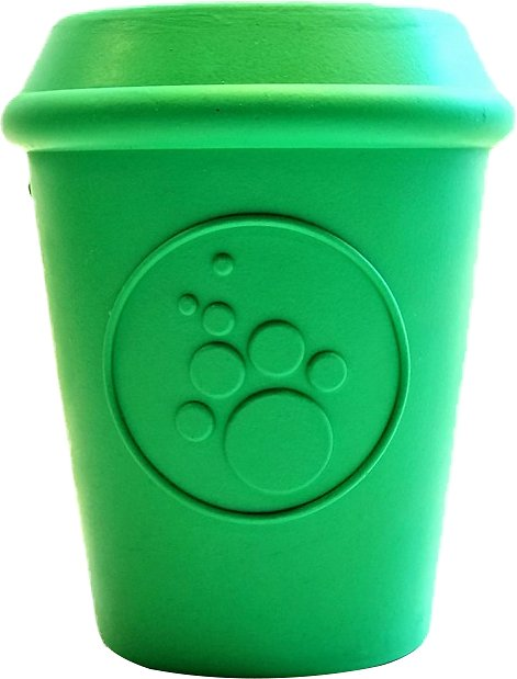 SodaPup Coffee Cup, Treat Dispensing, Dog Chew Toy