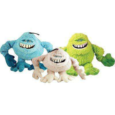 Loopies - Plush Dog Toy with Low Tone Squeaker - Abominable Throwman