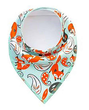 100% Cotton Adjustable Dog (Kerchief) Bandana Sets - Foxy or Outdoors Theme