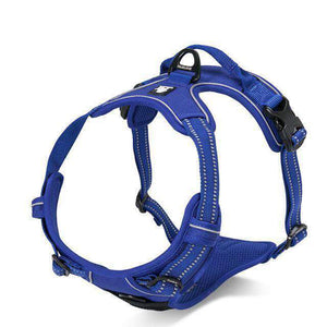 Truelove - No-Pull, Heavy Duty Dog Harness - Reflective, Padded, and Adjustable at neck and Chest