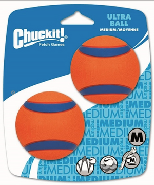 Chuckit!® Ultra Grip 26 inch Launcher with Ultra Ball - Dogs Approve - Throw farther, faster - Slobber-free