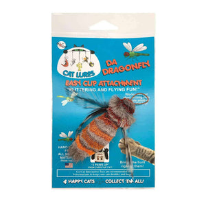 GO CAT™ - Cat Wand Toy Attachment Lure, Refill - Da Dragonfly