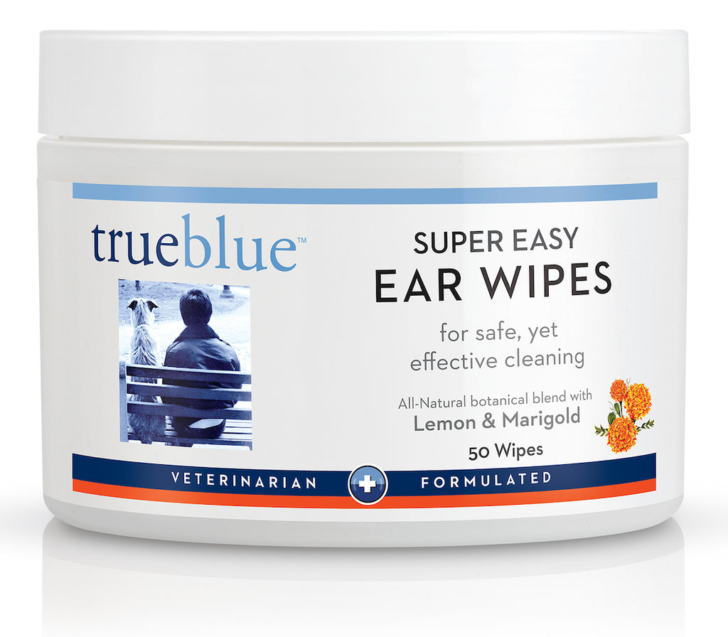 TrueBlue - Super Easy Dog Ear Wipes - 50 pads
