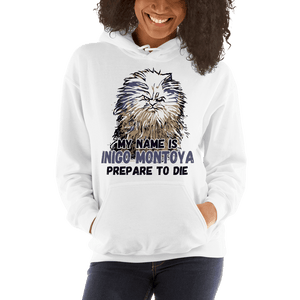 My Name Is Inigo Montoya Grumpy Cat Graphic Pullover Hoodie Sweatshirt PetDesignz Unisex men women