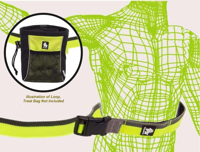 Truelove - Jogging /Running Belt 'n Leash in One - Adjustable, Hand-Held or Waist-Worn