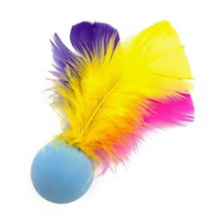 Feather Pong - Cat Toys by GO CAT